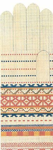 cimdu raksti - pages of Latvian mitten patterns