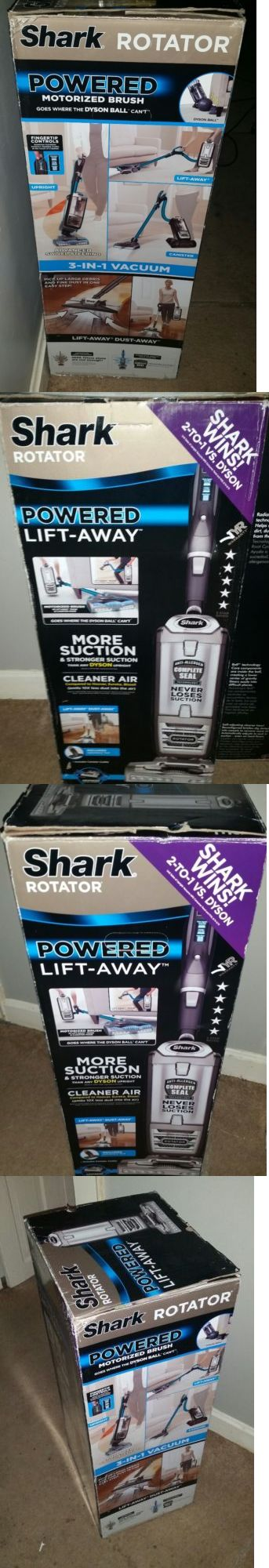 Vacuum Cleaners 20614: Shark Rotator Powered Lift-Away Bagless Vacuum Nv752 7 Year Warranty, New In Box -> BUY IT NOW ONLY: $250 on eBay!