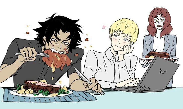Devilman crybaby Akira & Ryo