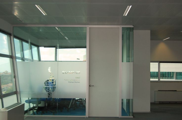Glass Acoustic Partition at a head of department office at Samasung