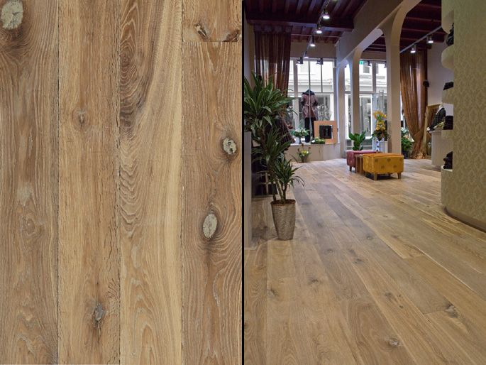 European White Oak Wide Plank Engineered Prefinished Wood