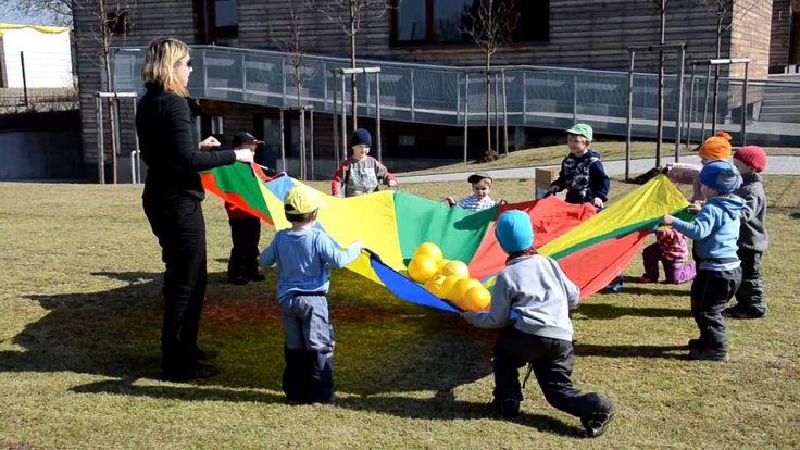 Venkovní sportovní aktivity pro děti.MOV