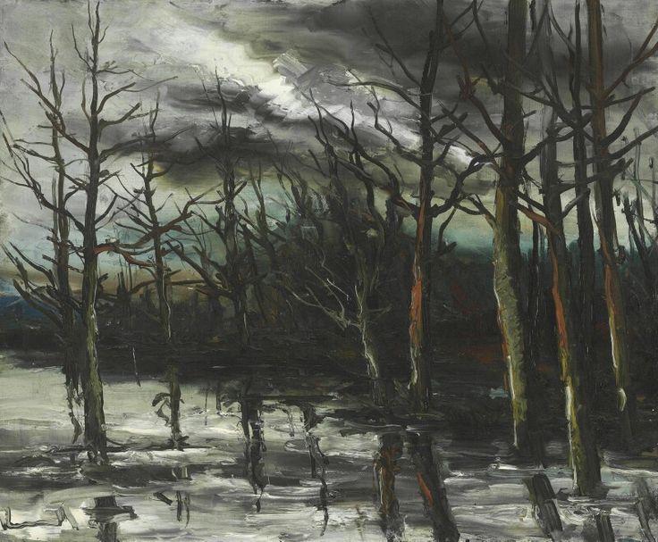 Flood in the Forest.  De Vlaminck
