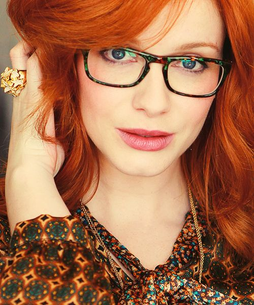 You were redheads with glasses opinion obvious