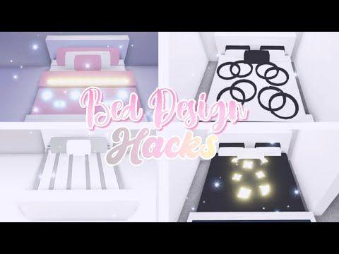 ♡adopt Me Bed Design Hacks♡ ︎adopt Me Building Hacks ︎