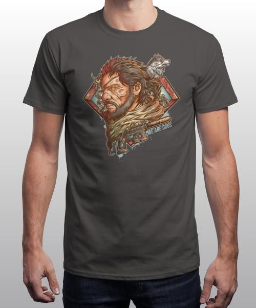 """""""War Dogs"""" is today's £8/€10/$12 tee for 24 hours only on www.Qwertee.com Pin this for a chance to win a FREE TEE this weekend. Follow us on pinterest.com/qwertee for a second! Thanks:)"""