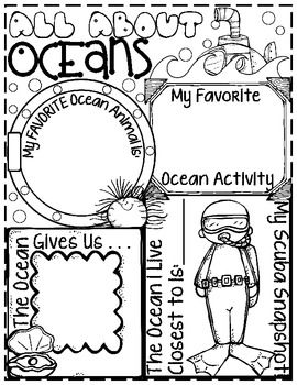 "***If you already own my, ""An Ocean Commotion: Math, Science and Literacy Unit,"" do not buy this poster. It is available as a part of the unit or in this listing by itself. Kids love to share what they know in a creative way. This is a great cumulative activity to show what your kids have learned while studying the Ocean Habitat."