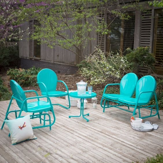 INNOVATIVE SUMMER TRENDS FOR YOUR VINTAGE PATIO SETS_see more ...