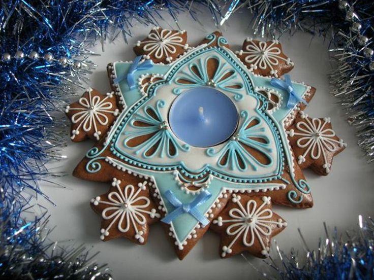 Vánoce v modrém