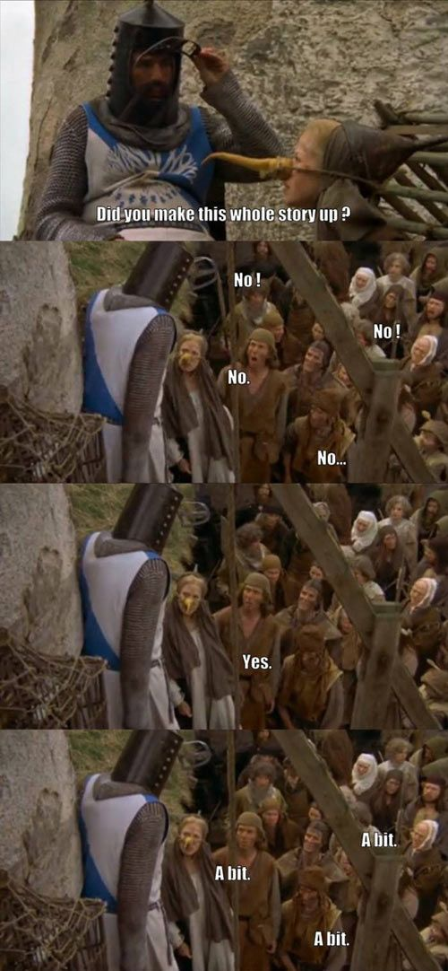Monty Python & The Holy Grail!!!