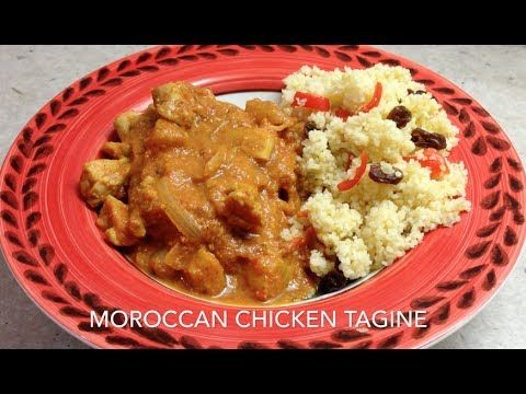 Moroccan Chicken Tagine or Tajine cheekyricho youtube tutorial. Just bought a Scanpan Tagine for use on the Induction Stovetop. This amazing meal was prepared in next to no time and tastes fantastic.