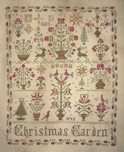 512 best images about samplers both antique and modern on for Blackbird designs english garden