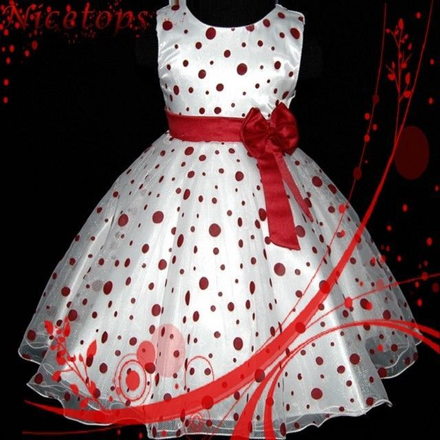 ba3342e7f54bc Details about Toddler Girls Summer Princess Dress Kids Baby Party ...