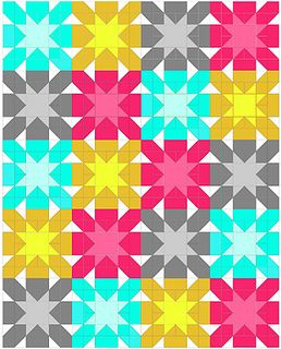Starburst Cross Block Tutorial by sewcraftyjess, via Flickr. I have to make this! (I think I may have even pinned it twice.)