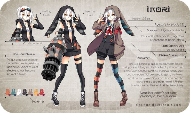 Inori Reference by Rini-tan.deviantart.com on @deviantART