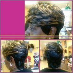 27 pieces hairstyle  @ NARCISSE SALON