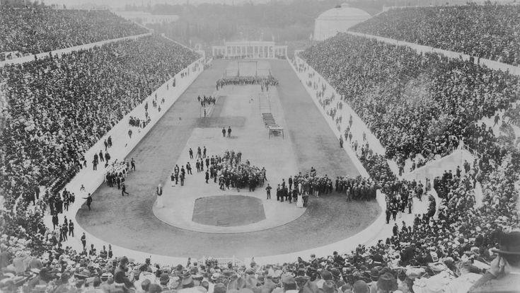 EL 'Doodle' de Google conmemora el 120 aniversario de los primeros Juegos Olímpicos modernos, conocidos como los Juegos de la I Olimpiada.