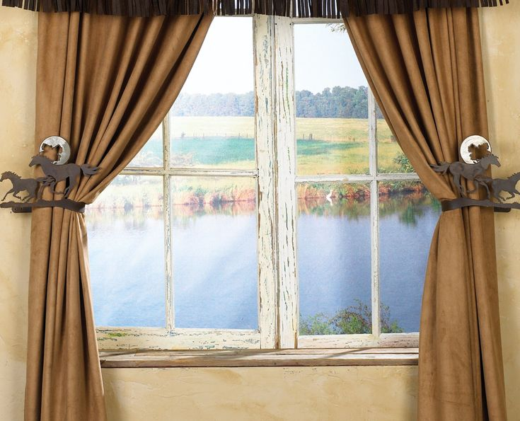 Find This Pin And More On Southwest Curtains 1. Western Window Treatment At  Lone Star Western Decor