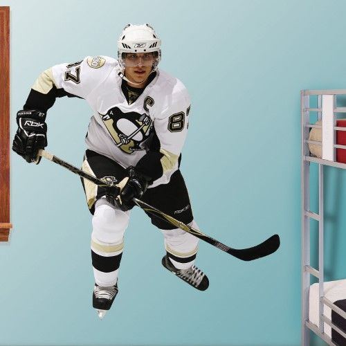 NHL Lifesize Team Player Wall Decal