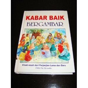 Indonesian Children's Bible / Kabar Baik Bergambar / Kisah-kisah dari Perjanjian Lama dan Baru Diceritakan Kembali untuk Anak-anak / The Lion's Children Bible    $39.99
