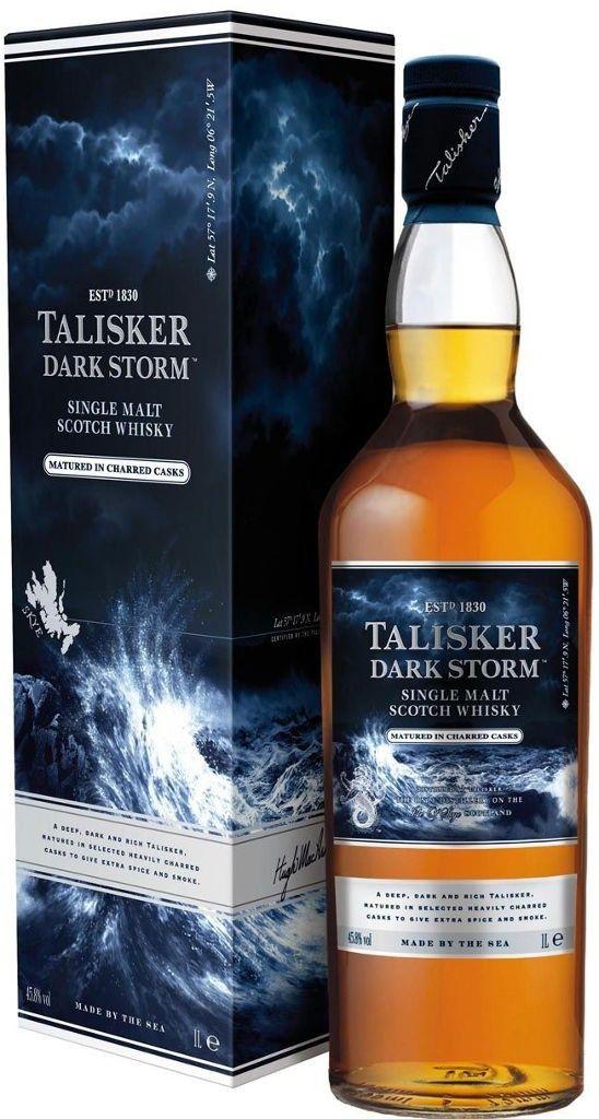 Talisker Whisky Dark Storm 1l
