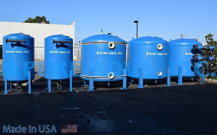 Brackish Water RO System 173,000 GPD - Algeria - For more details: https://www.pureaqua.com/brackish-water-ro-system-173000-gpd-algeria/