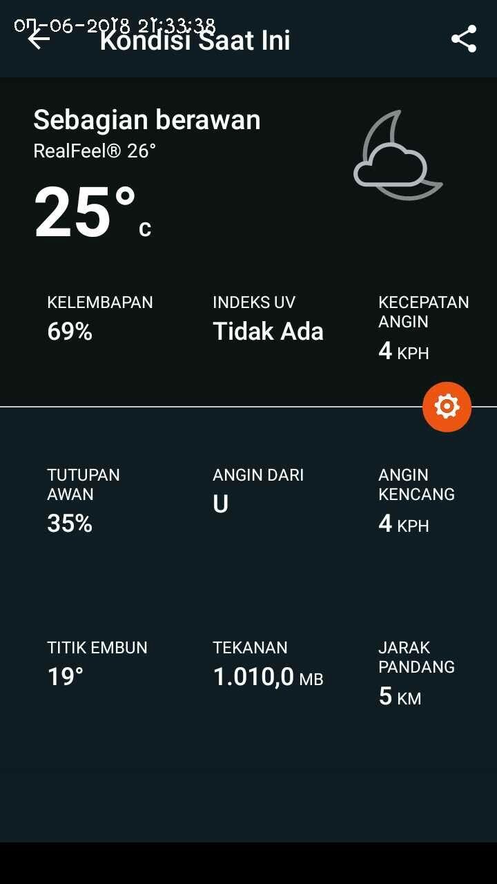 Suhu Saat Ini : #dingin, #tangerang, 060718, Dampak, Aphelion, Awan,, Penekanan