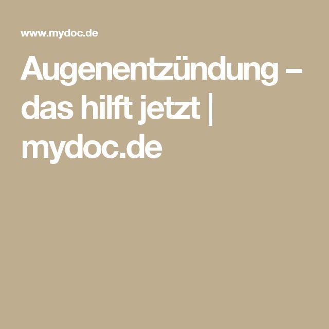 Augenentzündung – das hilft jetzt | mydoc.de