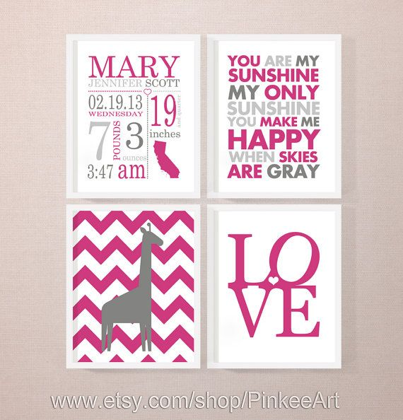 1000 images about Papier fairepart – Personalized Baby Announcement Gifts