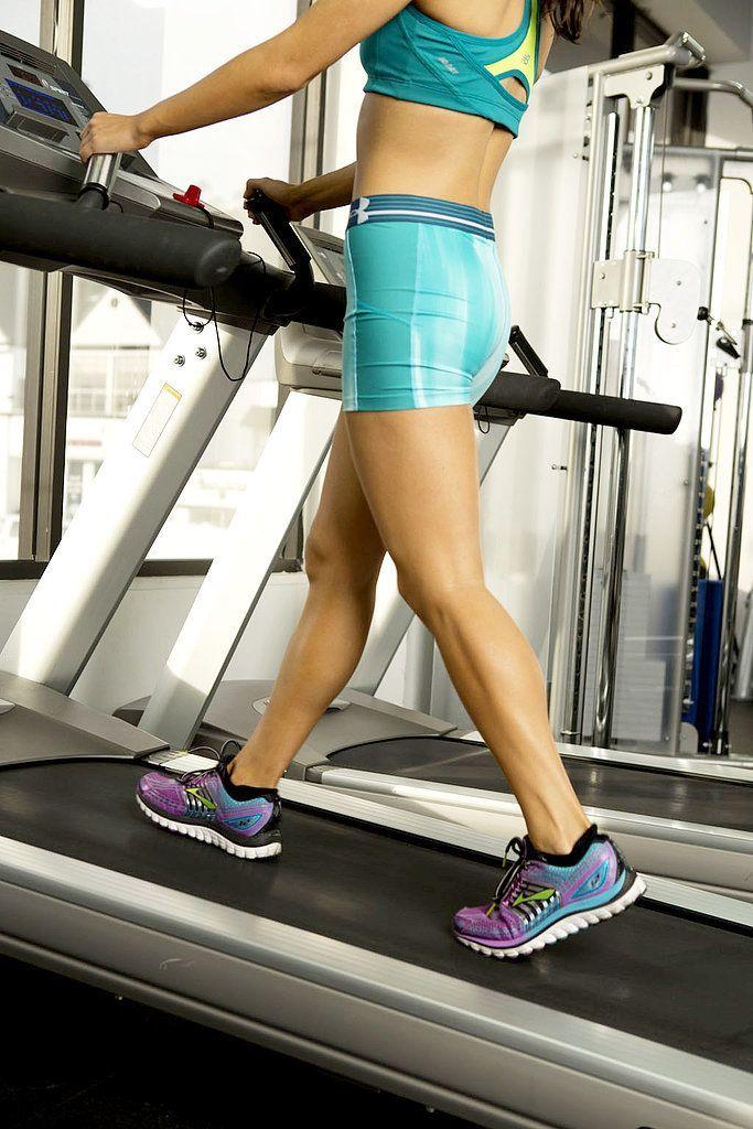 20-Minute Walking Treadmill Workout | POPSUGAR Fitness