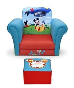 Kids-Lounger-Chair-Mickey-Mouse-Disney-Toddler-Furniture-Children-Seat-Ottoman