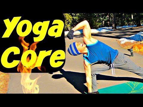 SERIOUS YOGA CORE WORKOUT - Fast Yoga Ab Butt Kicker - YouTube