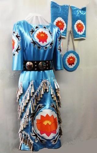 Native American jingle dress - I love the design, the cut, the way the jingles go. Amazing dress.