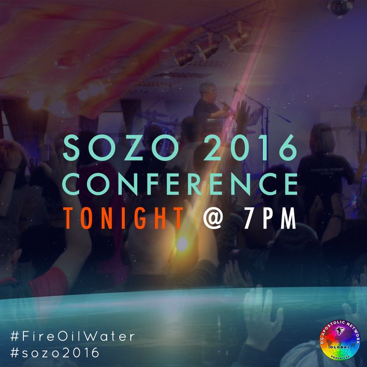 Join us this evening as we kick off SOZO 2016 @ 7pm! Apostle Deborah Bell, your conference host, invites you. The Fire, Oil, and Water of the Spirit will flow!  If you can't join us at DGFC Worship Centre in Durban, SA, tune in online at www.deogloria.org/live (available in HD!)  #sozo2016 #FireOilWater #lgbt #gaychurch #gaychristian #allpeople #durban