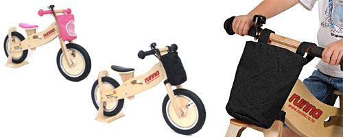 Runna Wooden Balance Bike - UrbanBaby $139