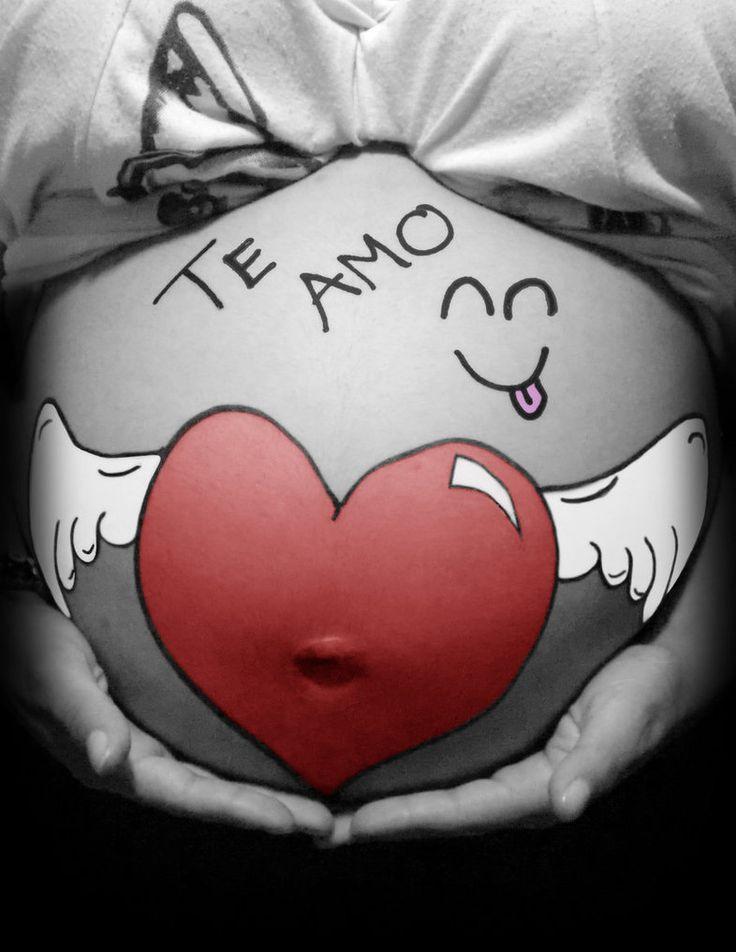 PREGNANT LOVE I by ~FALLEN-ANGEL-F on deviantART