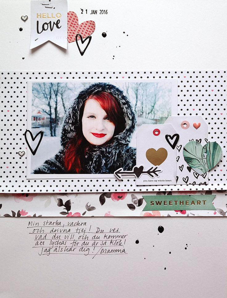 Crate paper Hello Love: Sweetheart