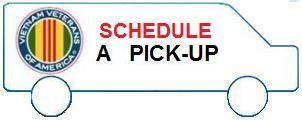 Vietnam Veterans of America - Schedule A Pickup