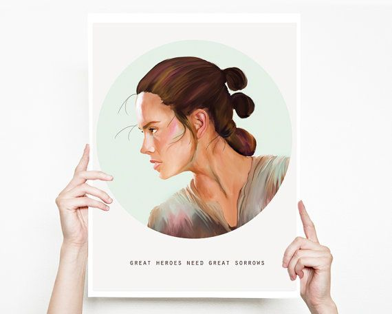 Hey, I found this really awesome Etsy listing at https://www.etsy.com/listing/268108265/star-wars-art-rey-star-wars-painting