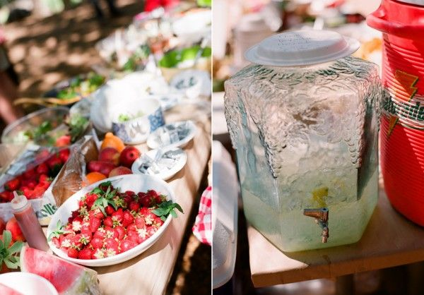 buffet mariage participatif