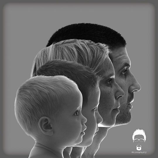 Photo de famille profil