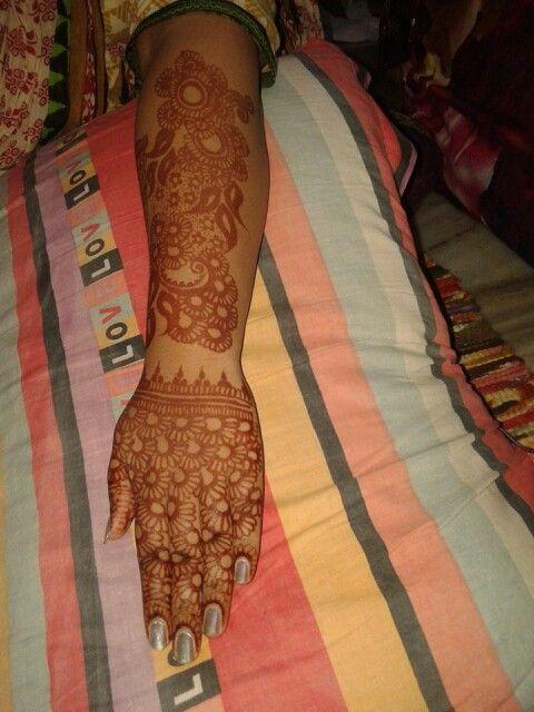 Beautiful mahandi design...