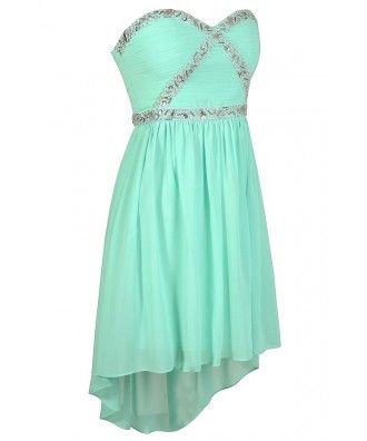 Lily Boutique Mint Prom Dress, Beaded Mint Dress, Cute Prom Dress, Mint Prom Dress, Teal Prom Dress, Teal Party Dress, #2 Rhinestone Mint…