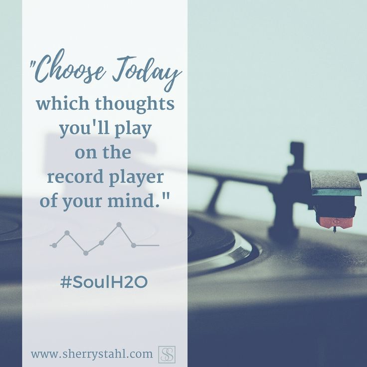 """From @sherrylynnstahl 's book #SoulH2O, in the devo called """"Repeats""""... and so important to take with us through the day! Check out the link in the board's info for all the devotional goodness!"""