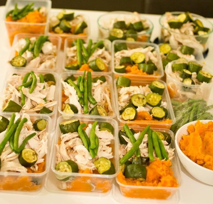My secret to eating clean and losing fat – An article about food prepping | The Baking Mad Gym Addict