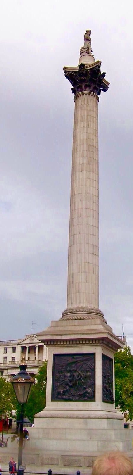 Nelson's Column in Trafalgar Square,London,England