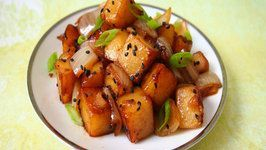 Easy Korean Potatoes Side Dish