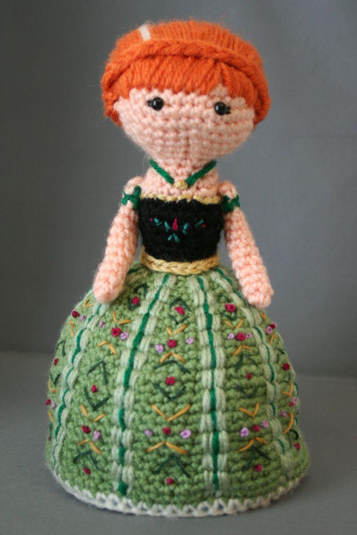 Amigurumi Doll Skirt : 25+ best ideas about Anna Coronation Dress on Pinterest ...