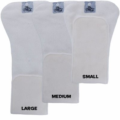 SoftBums One-Size DryTouch SUPER Pods Sizing - $7.95   (I wanted to love SBs, but I don't.   They do seem to work better now that our toddler is much bigger.  I generally like the SuperPods, but prefer to just stick them in another cover or pocket diaper and skip the hassle of wondering whether the SB covers will leak.  Maybe we'll have better luck with using them for the next baby.)  4 SuperPods (3 StayDry, 1 Bamboo)