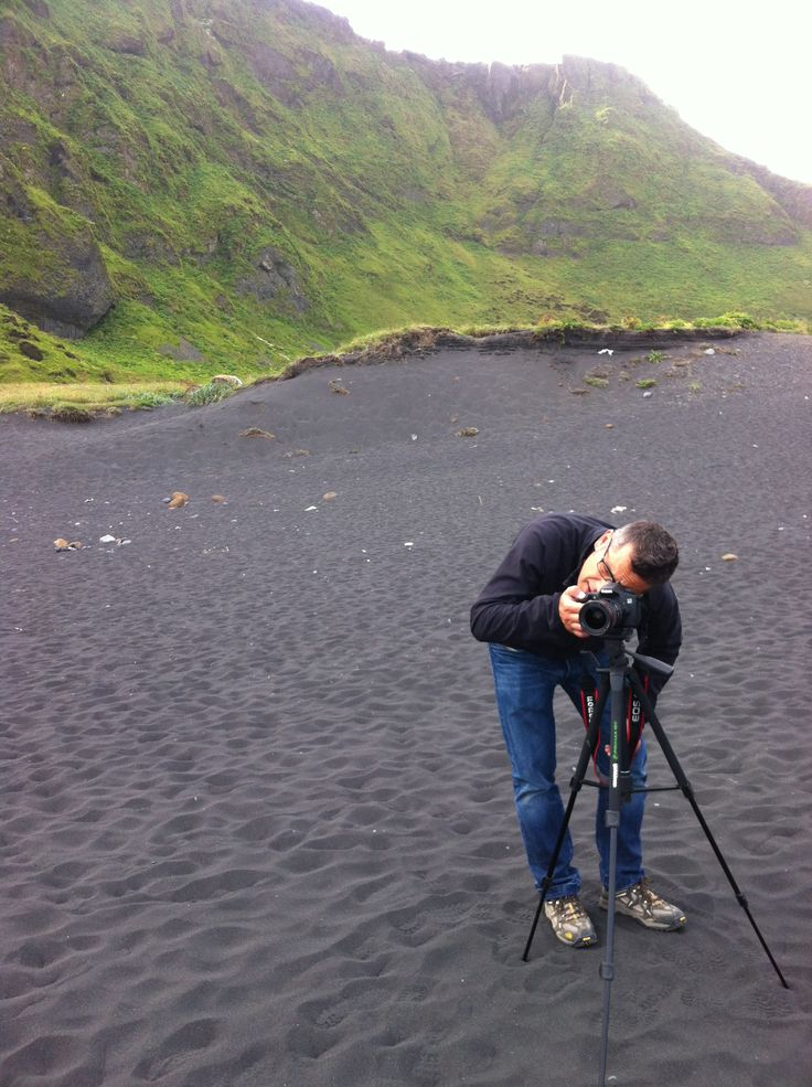 Awesome !!! Large beach with a soft black sand!  Vik